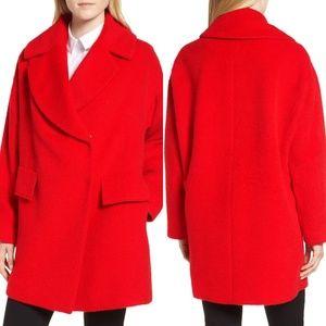 TRINA TURK Ruby Wool Alpaca Blend Coat